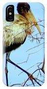 Treetop Stork IPhone Case