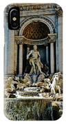 Trevi Fountain Vertical  IPhone Case