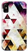 Triangles Autumn IPhone Case