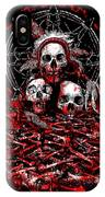 Tribal Massacre  IPhone Case