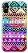 Tribal Pattern 08 IPhone Case