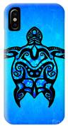 Tribal Turtle Hibiscus IPhone Case