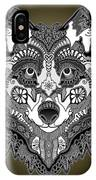 Tribal Wolf IPhone Case