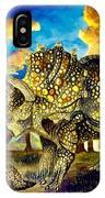 Triceratops IPhone Case