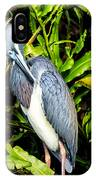 Tricolored Heron 3 IPhone Case