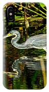 Tricolored Heron 5 IPhone Case