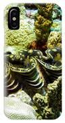 Tridacna3 IPhone Case