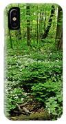 Trillium Woods Vi IPhone Case