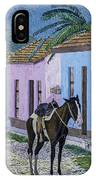 Trinidad Lifestyle 28x22in Oil On Canvas  IPhone Case