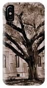 Trinity Episcopal Cathedral Court Yard IPhone Case