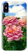 Trio Of Rose IPhone Case