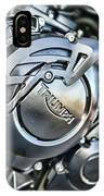 Triumph Tiger 800 Xc Engine IPhone Case
