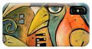 Trois Oiseaux IPhone Case