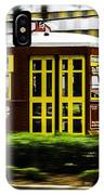 Trolley Car In Motion, New Orleans, Louisiana IPhone Case