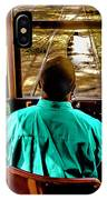 Trolley Driver In New Orleans IPhone Case