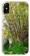 Tropical Bamboo IPhone Case