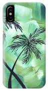 Tropical Dance 3 By Madart IPhone Case
