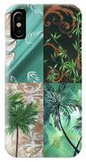 Tropical Dance Square By Madart IPhone Case