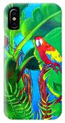 Tropical Flame IPhone Case