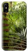 Tropical Forest Jungle IPhone Case