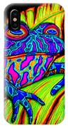 Tropical Frog IPhone Case