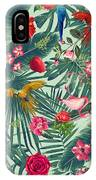 Tropical Fun Time  IPhone Case