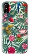 Tropical Fun Time  IPhone Case by Mark Ashkenazi