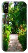 Tropical Garden Passage IPhone Case
