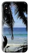 Tropical Hole IPhone Case