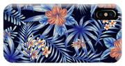 Tropical Leaf Pattern 4 IPhone Case