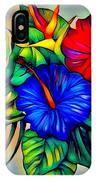 Tropical Neon Boutique  IPhone Case