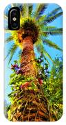 Tropical Palm Tree Painting IPhone Case