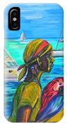 Tropical Scene IPhone Case