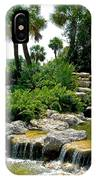 Tropical Water Falls IPhone Case