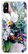 Tropical White Orchids IPhone Case