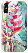 Tropicana Red IPhone Case