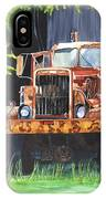 Truck Rusted IPhone Case