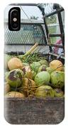 Truckload Of Coconuts IPhone Case