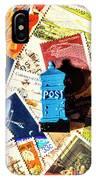 True Blue Postbox IPhone X Case