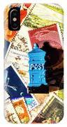 True Blue Postbox IPhone Case