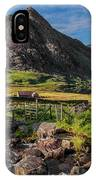 Tryfan Mountain Valley IPhone X Case