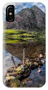 Tryfan Reflections IPhone Case