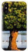Trying To Get My Ducks In A Row. IPhone Case
