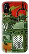 Tsuri-do-ro Or Hanging Lantern #0807-2 IPhone Case