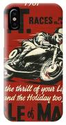 Tt Races 1961 IPhone Case