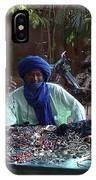 Tuareg Man Selling Jewelry IPhone Case