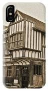 Tudor House Southampton IPhone Case