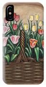 Tulip Basket IPhone Case