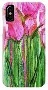 Tulip Bloomies 2 - Pink IPhone Case