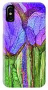 Tulip Bloomies 3 - Purple IPhone Case